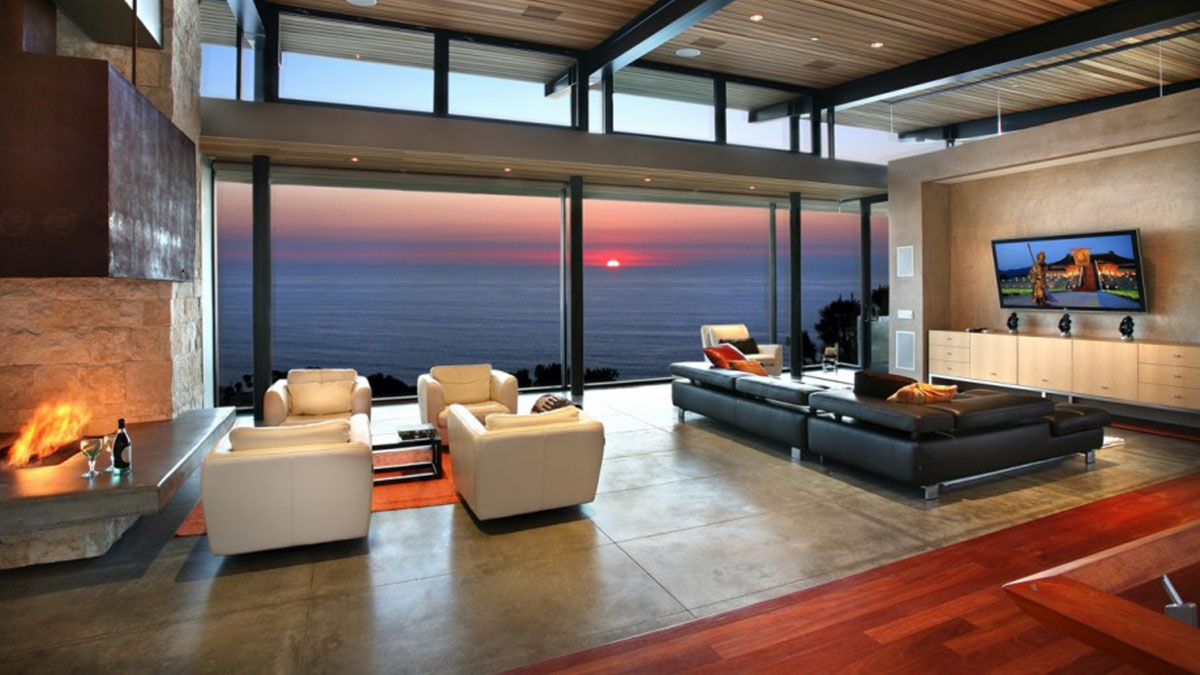 Independent apartments with modern design
